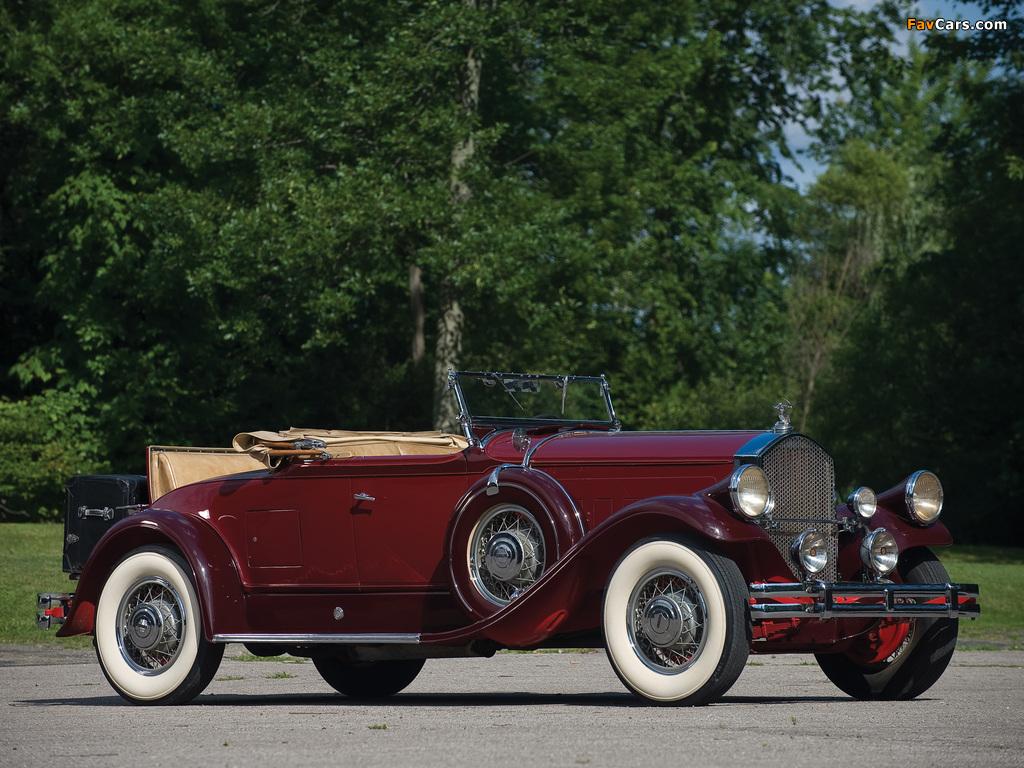 Pierce-Arrow Model B Roadster 1930 wallpapers (1024 x 768)