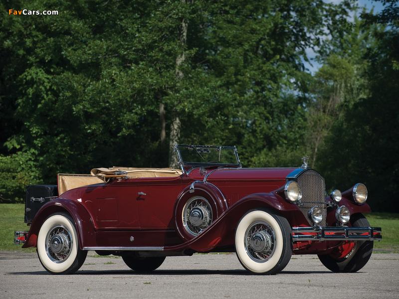 Pierce-Arrow Model B Roadster 1930 wallpapers (800 x 600)