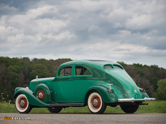 Pierce-Arrow Silver Arrow Coupe (840A) 1934 images (640 x 480)