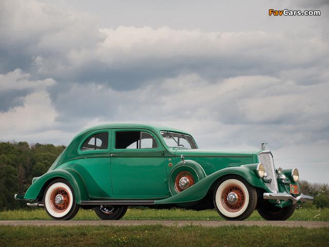 Pierce-Arrow Silver Arrow Coupe (840A) 1934 photos (640 x 480)