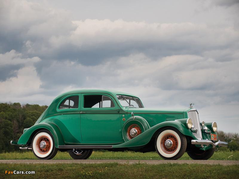 Pierce-Arrow Silver Arrow Coupe (840A) 1934 photos (800 x 600)