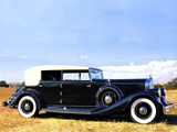 Images of Pierce-Arrow Twelve Convertible Sedan 1933