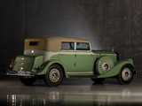 Pierce-Arrow Twelve Convertible Sedan 1933 pictures