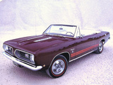 Pictures of Plymouth Barracuda Formula S Convertible (BH27) 1968