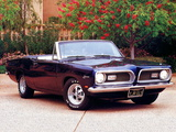 Pictures of Plymouth Barracuda Convertible (BH27) 1969
