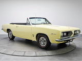 Plymouth Barracuda Formula S 383 Convertible (BH27) 1967 pictures