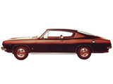 Plymouth Barracuda Formula S Fastback (BH29) 1967 pictures