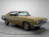 Plymouth Barracuda Formula S Fastback (BH29) 1968 pictures