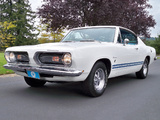 Plymouth Barracuda Formula S Fastback (BH29) 1968 wallpapers