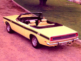 Plymouth Barracuda Convertible (BH27) 1969 pictures