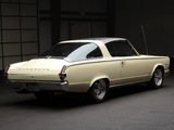Plymouth Barracuda Fastback Hardtop (BP29) 1966 wallpapers