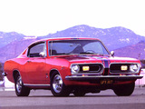 Plymouth Barracuda Formula S Fastback (BH29) 1967 wallpapers
