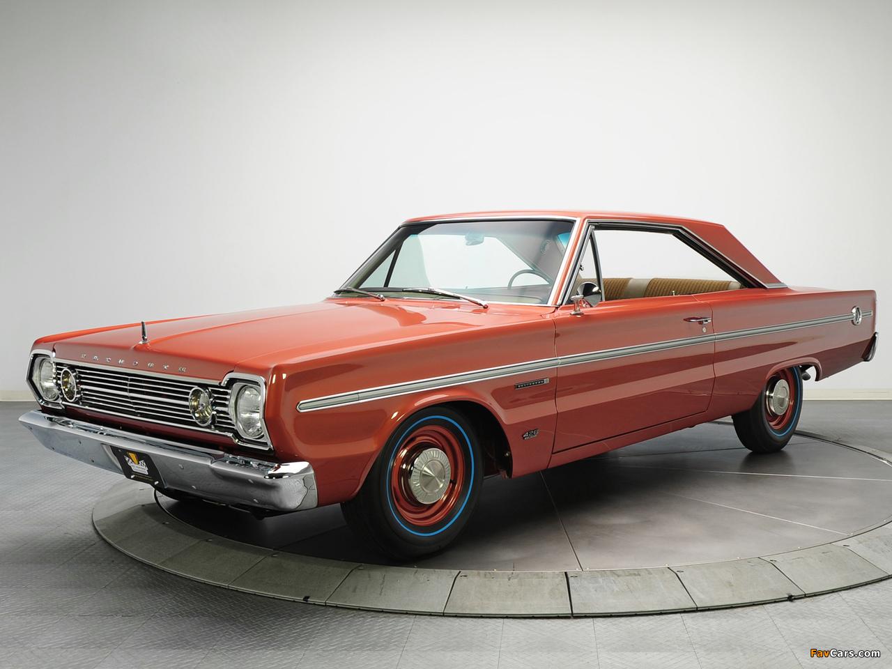 Images of Plymouth Belvedere II 426 Hemi Hardtop Coupe (RH23) 1966 (1280 x 960)