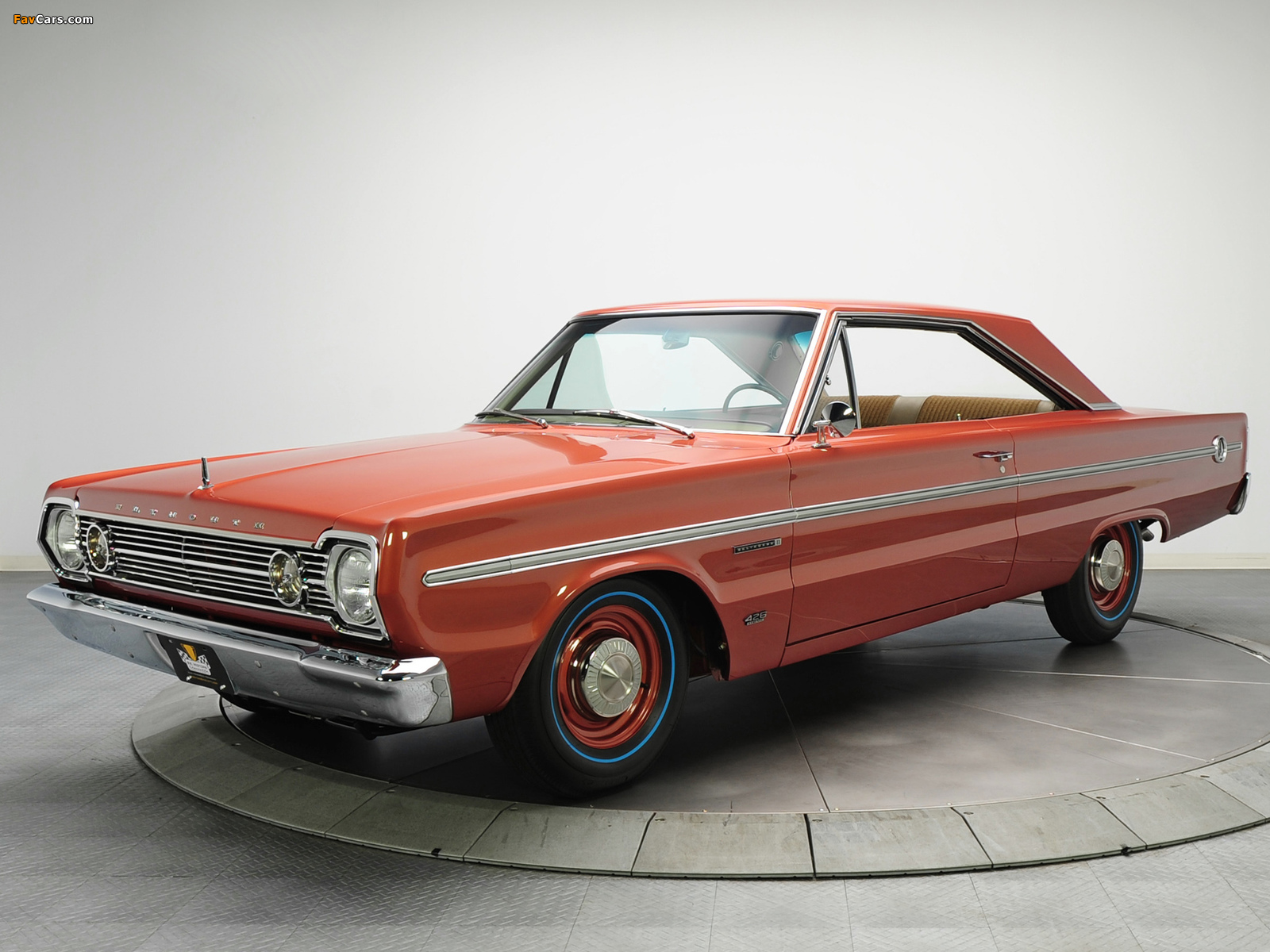 Images of Plymouth Belvedere II 426 Hemi Hardtop Coupe (RH23) 1966 (1600 x 1200)