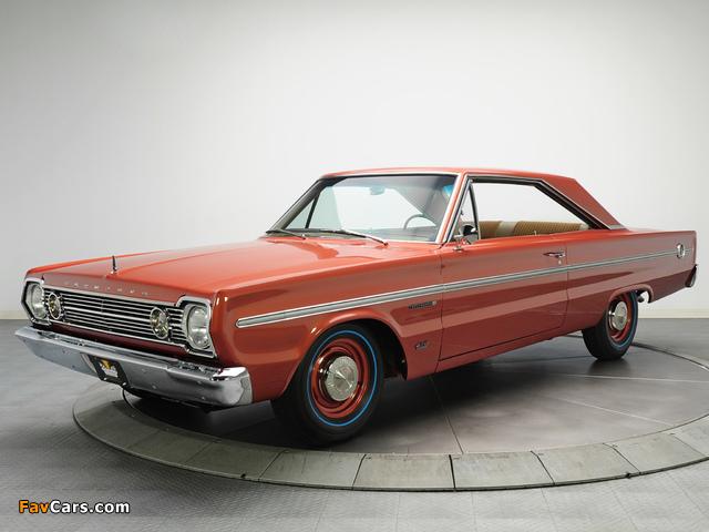 Images of Plymouth Belvedere II 426 Hemi Hardtop Coupe (RH23) 1966 (640 x 480)