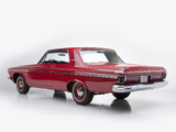 Photos of Plymouth Belvedere 426/425 HP Max Wedge Stage II Hardtop Coupe (TP2-M) 1963