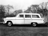 Plymouth Belvedere Suburban Wagon 1955 wallpapers