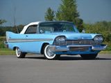 Plymouth Belvedere Convertible 1958 wallpapers