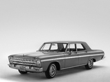 Plymouth Belvedere II Sedan (AR1/2-M R33) 1965 images