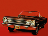Plymouth Belvedere ll Convertible (CR1/2-H RH27) 1967 wallpapers