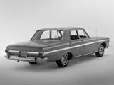 Plymouth Belvedere II Sedan (AR1/2-M R33) 1965 wallpapers