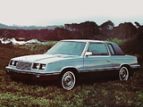 Plymouth Caravelle Coupe 1983 wallpapers