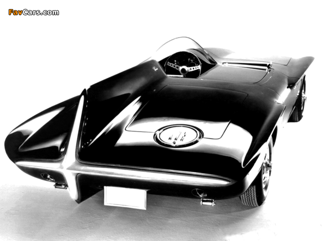Plymouth XNR Concept Car 1960 images (640 x 480)