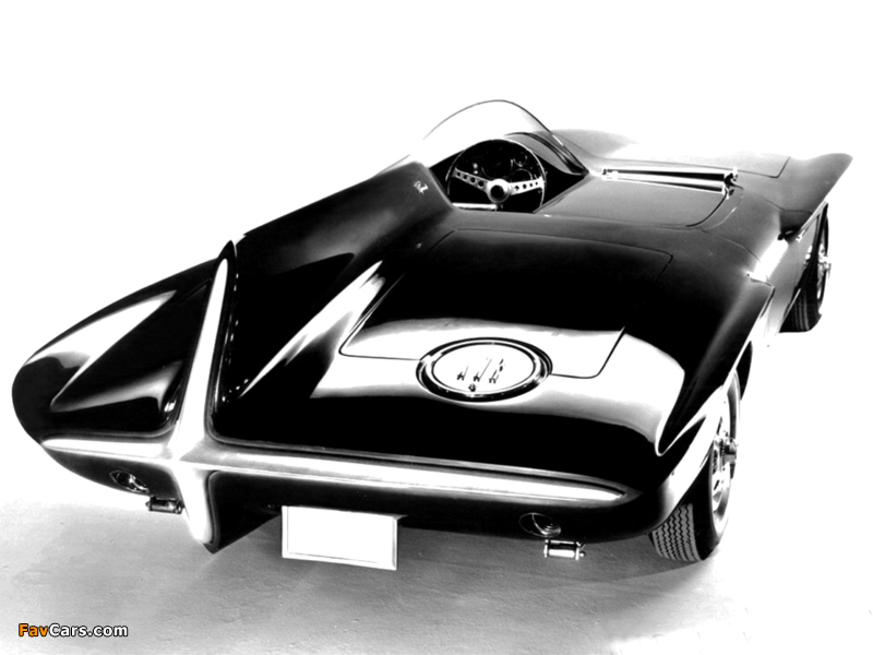 Plymouth XNR Concept Car 1960 images (800 x 600)