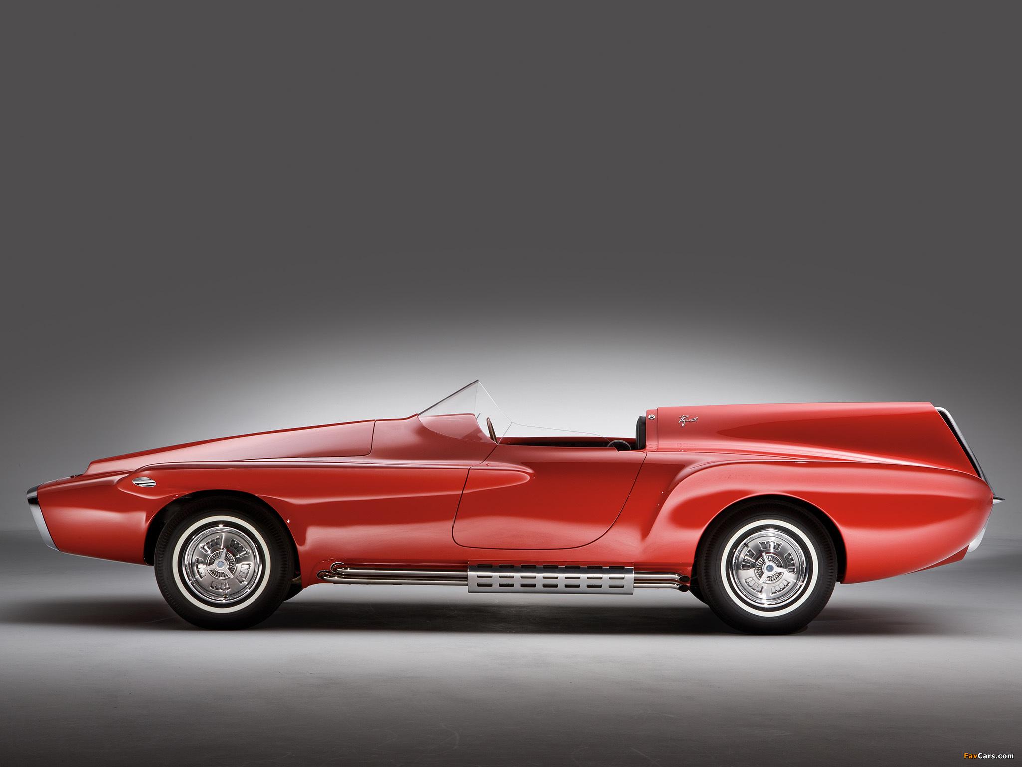 Plymouth XNR Concept Car 1960 photos (2048 x 1536)