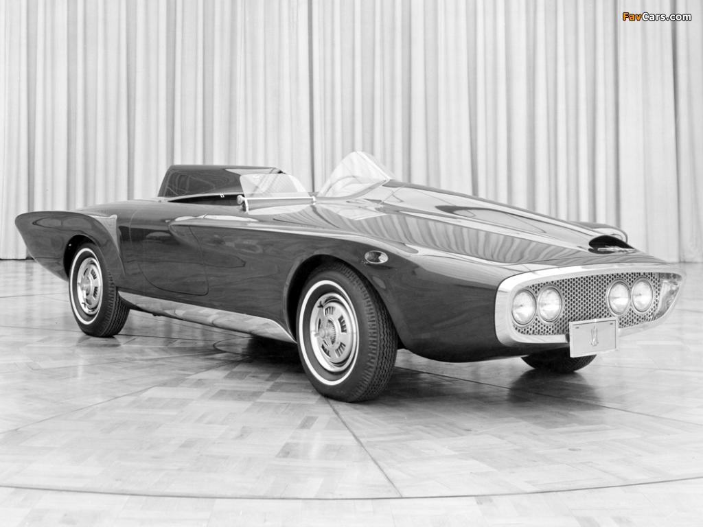 Plymouth XNR Concept Car 1960 photos (1024 x 768)