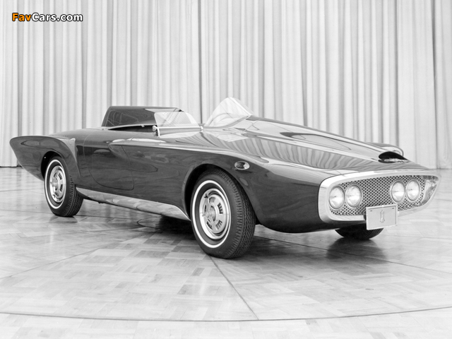 Plymouth XNR Concept Car 1960 photos (640 x 480)