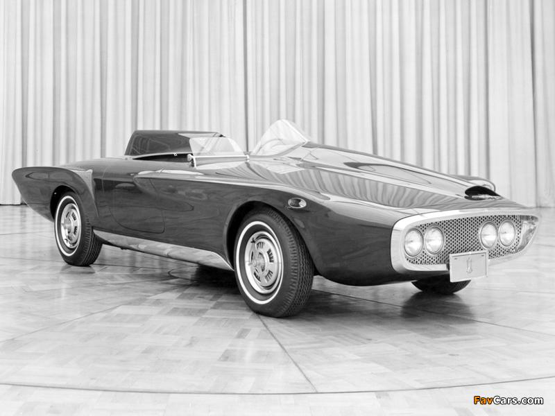 Plymouth XNR Concept Car 1960 photos (800 x 600)