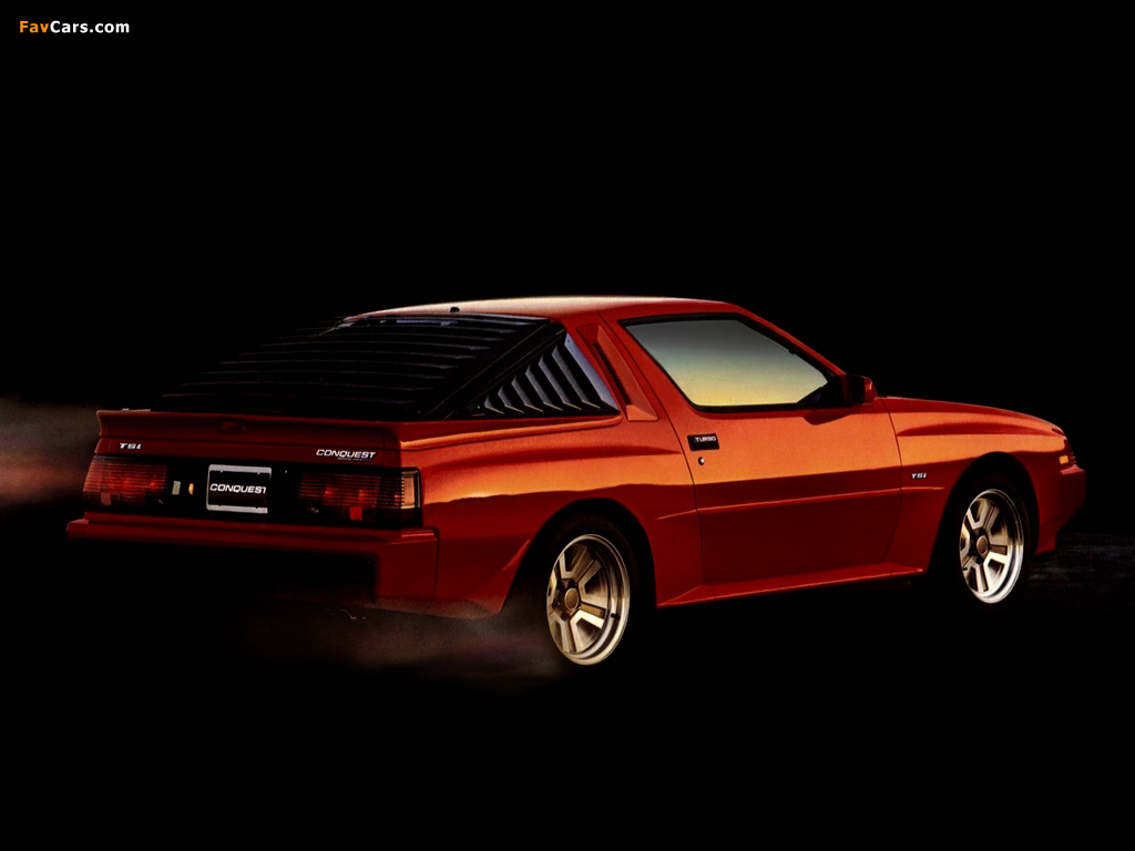 Pictures of Plymouth Conquest TSi 1986 (1024 x 768)