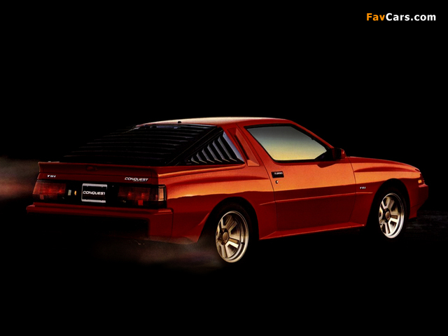 Pictures of Plymouth Conquest TSi 1986 (640 x 480)