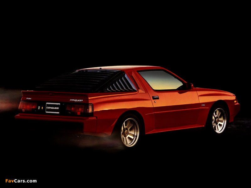 Pictures of Plymouth Conquest TSi 1986 (800 x 600)
