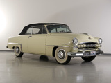 Plymouth Cranbrook Convertible 1953 wallpapers