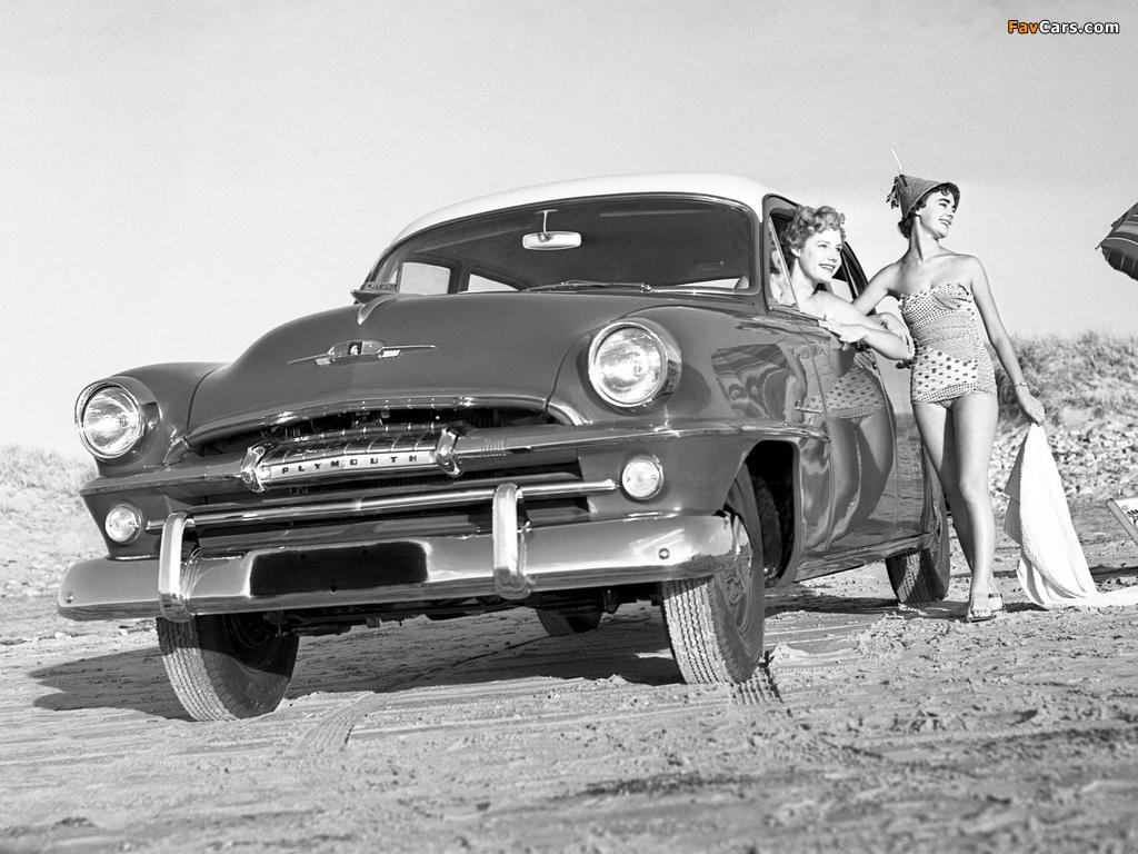 Plymouth Cranbrook 4-door Sedan AU-spec 1956 wallpapers (1024 x 768)