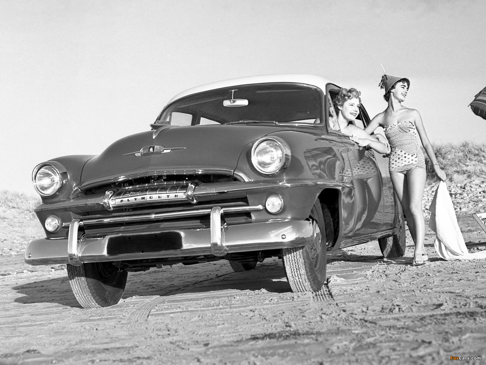 Plymouth Cranbrook 4-door Sedan AU-spec 1956 wallpapers (1600 x 1200)