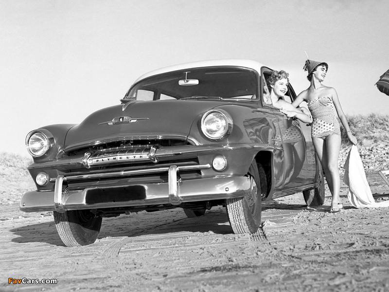 Plymouth Cranbrook 4-door Sedan AU-spec 1956 wallpapers (800 x 600)