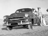 Plymouth Cranbrook 4-door Sedan AU-spec 1956 wallpapers