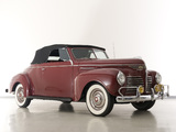 Images of Plymouth DeLuxe Convertible (P10) 1940