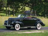 Photos of Plymouth DeLuxe Convertible Coupe (P8) 1939