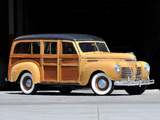 Pictures of Plymouth DeLuxe Station Wagon 1940