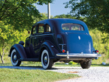 1936 Plymouth DeLuxe Model P2 Touring Sedan (805) 1935–36 photos