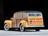 Plymouth DeLuxe Station Wagon 1940 photos