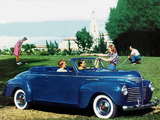 Plymouth DeLuxe Convertible (P10) 1940 photos