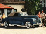 Plymouth DeLuxe Convertible (P10) 1940 wallpapers