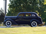 1936 Plymouth DeLuxe Model P2 Touring Sedan (805) 1935–36 wallpapers