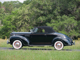 Plymouth DeLuxe Convertible Coupe (P8) 1939 wallpapers