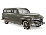 Plymouth DeLuxe Suburban (P19) 1950 wallpapers
